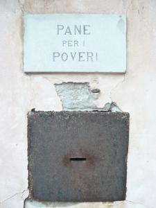 rusty charity box