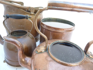 Old vessels filled to the brim