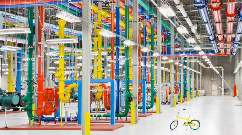 Google data center ©Google