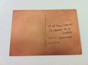 Cadi Froehlich Copper Postcard