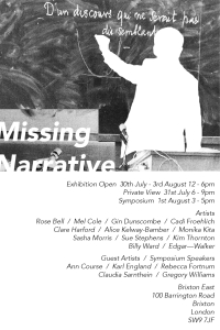 Missing Narrative E-Flyer